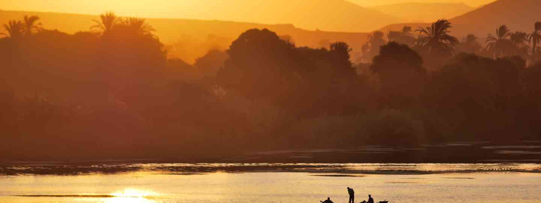Sunset on the river Nile, Egypt (Shutterstock)