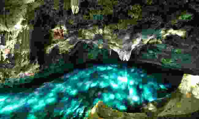 One of the caves at Los Tres Ojos (Shutterstock)