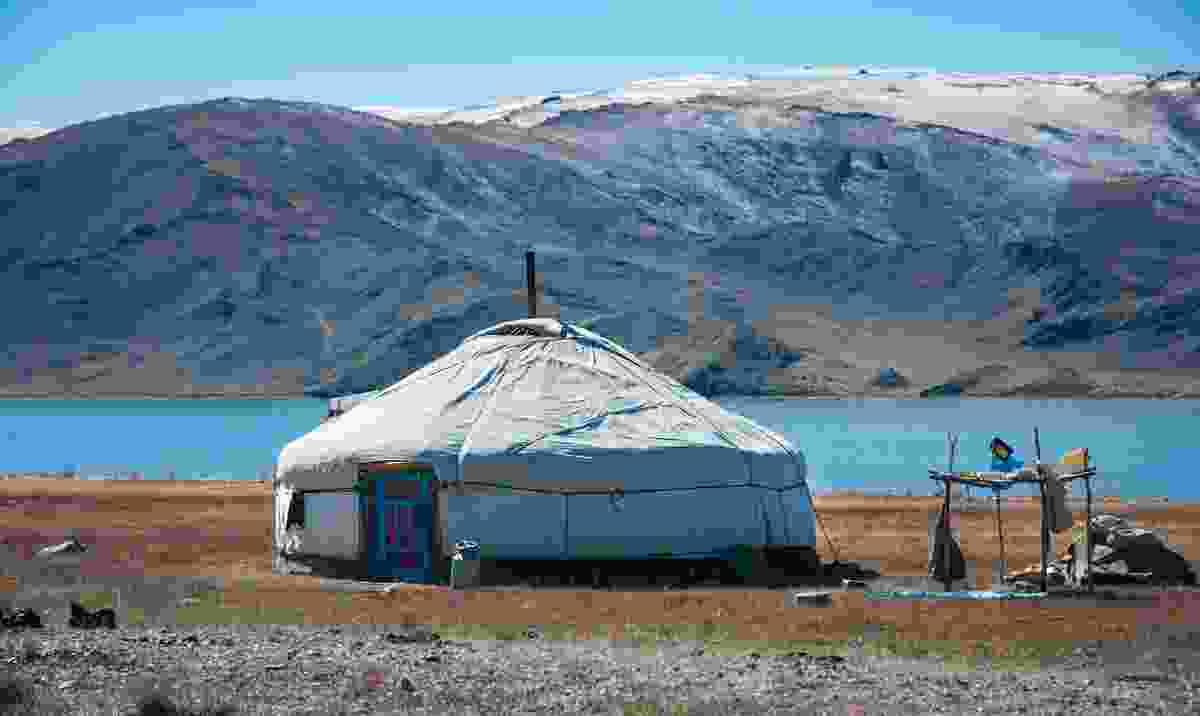 A Mongolian ger (Shutterstock)