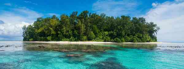 The main island of Bougainville (Alamy)