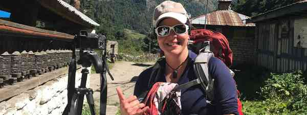 Inspiring women in travel (Holly Budge)