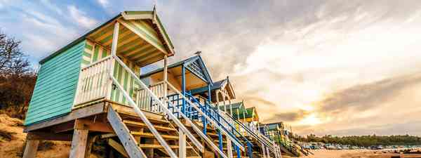 Norfolk Nirvana: Chalets overlook the Wells-next-the-sea coastline