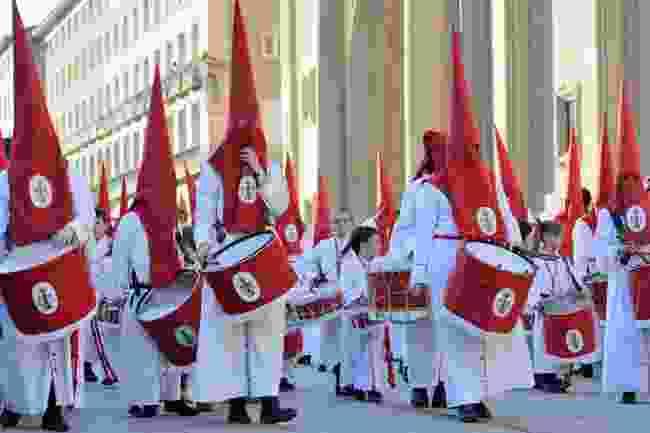 A procession on Good Friday in Zaragoza, Spain (Astudio/Shutterstock)