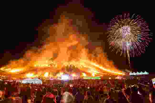 Jeju Fire Festival, South Korea (Korea Tourism Organization)
