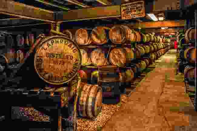 Laphroaig Distillery (Shutterstock)