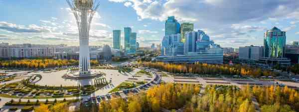 Nur-Sultan, Kazakhstan (Shutterstock)