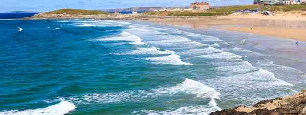 Fistral beach, Cornwall (Shutterstock)