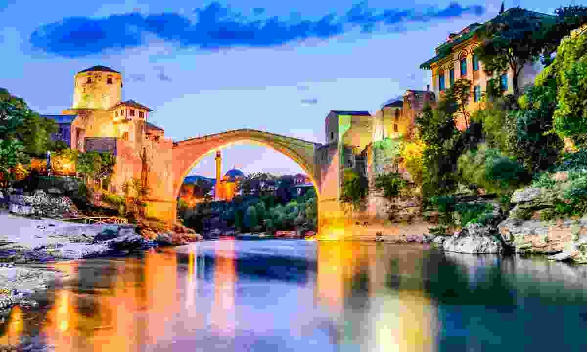 Mostar Bridge, Bosnia and Herzegovina (Dreamstime)