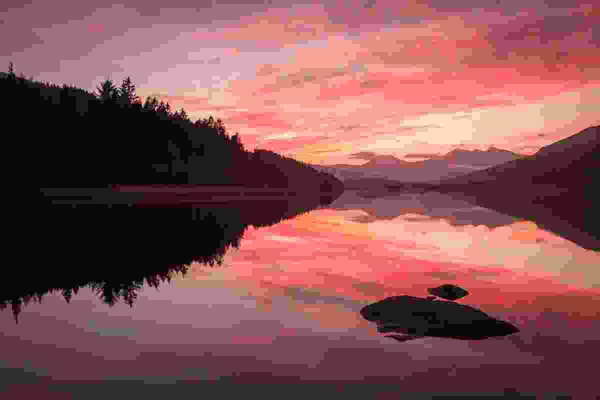 A stunning November sunset (Nick Livesey)