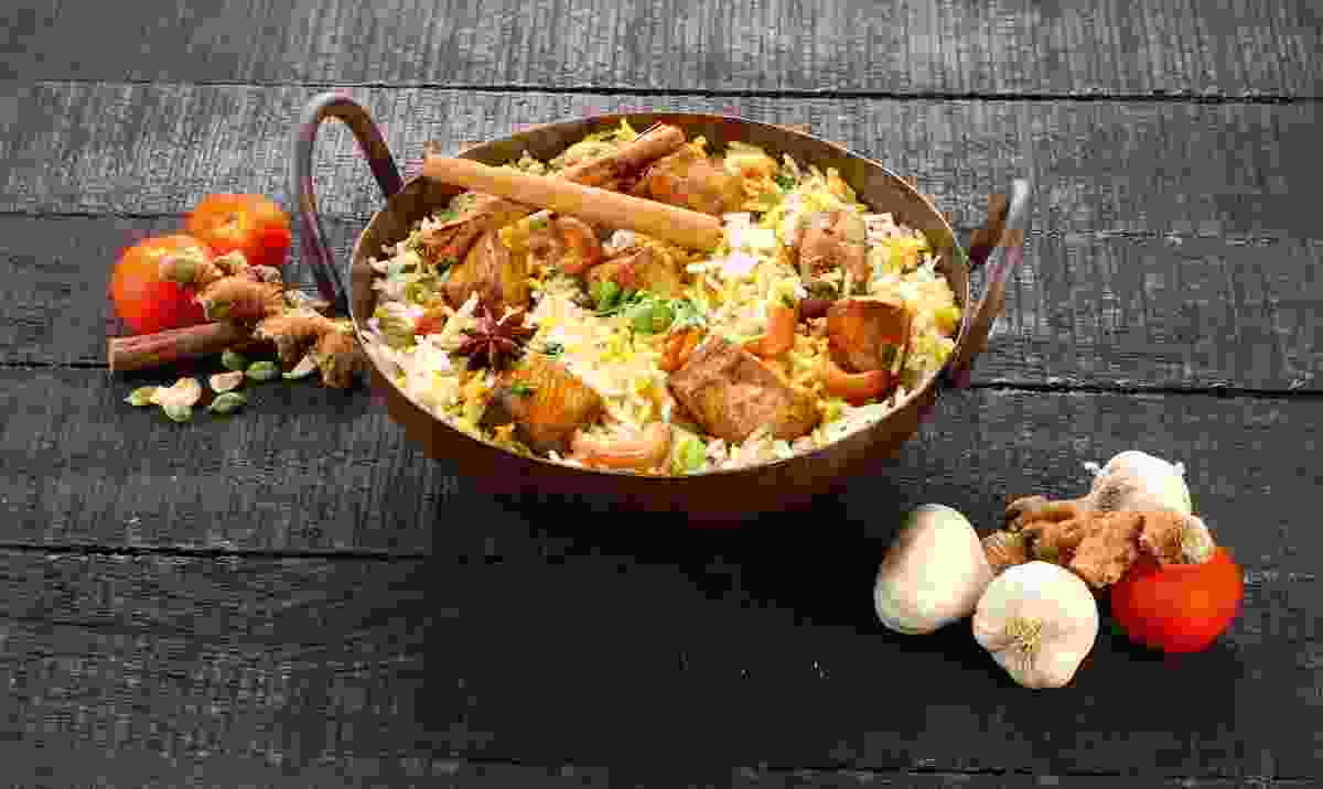 Authentic biriyani – just one of the many tastes of India... (Shutterstock)