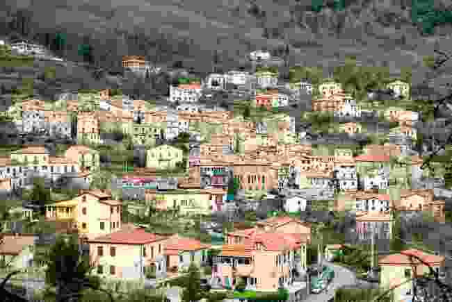 The charming village of Biassa, Italy (Shutterstock)