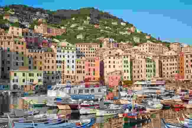 Camogli in Liguria, Italy (Shutterstock)