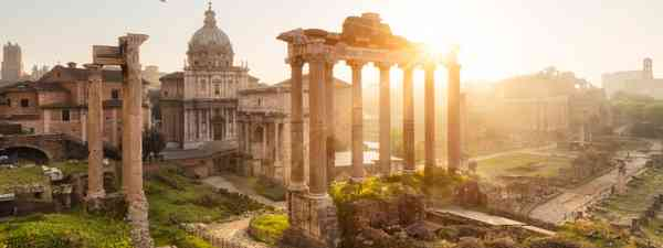 The Forum in the morning (Dreamstime)