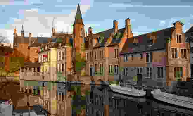 The canals of Bruges (Dreamstime)