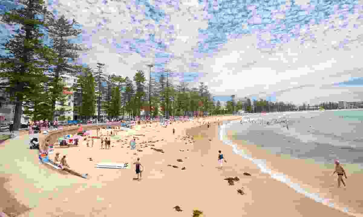 Manly and its famous pines (Dreamstime)
