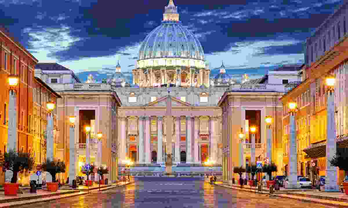 The Papal Basilica of Saint Peter in the Vatican (Dreamstime)