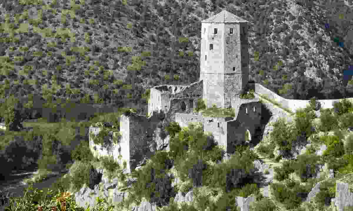 Old castle of Počitelj (Dreamstime)