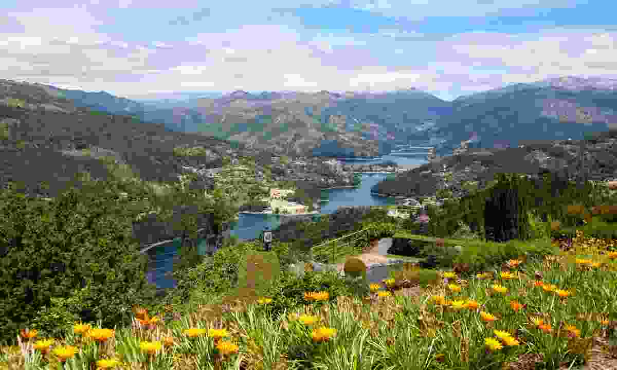 River meandering through Peneda-Gerês National Park (Dreamstime)