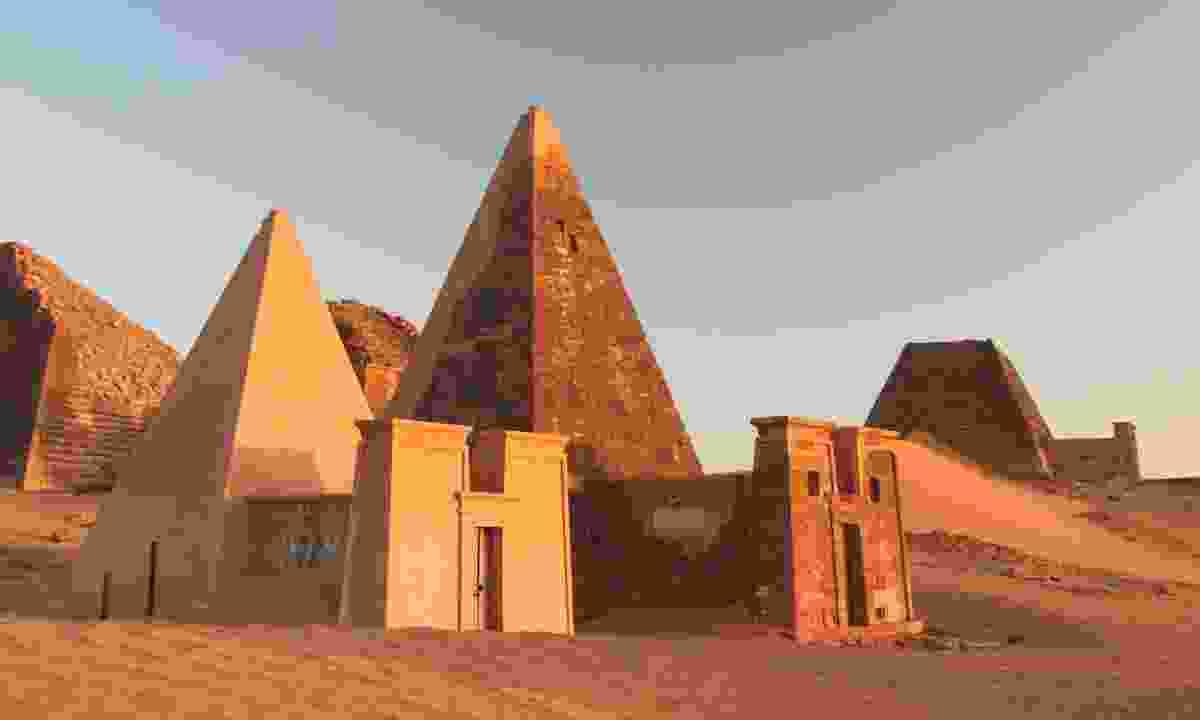 Meroe pyramids (Dreamstime)