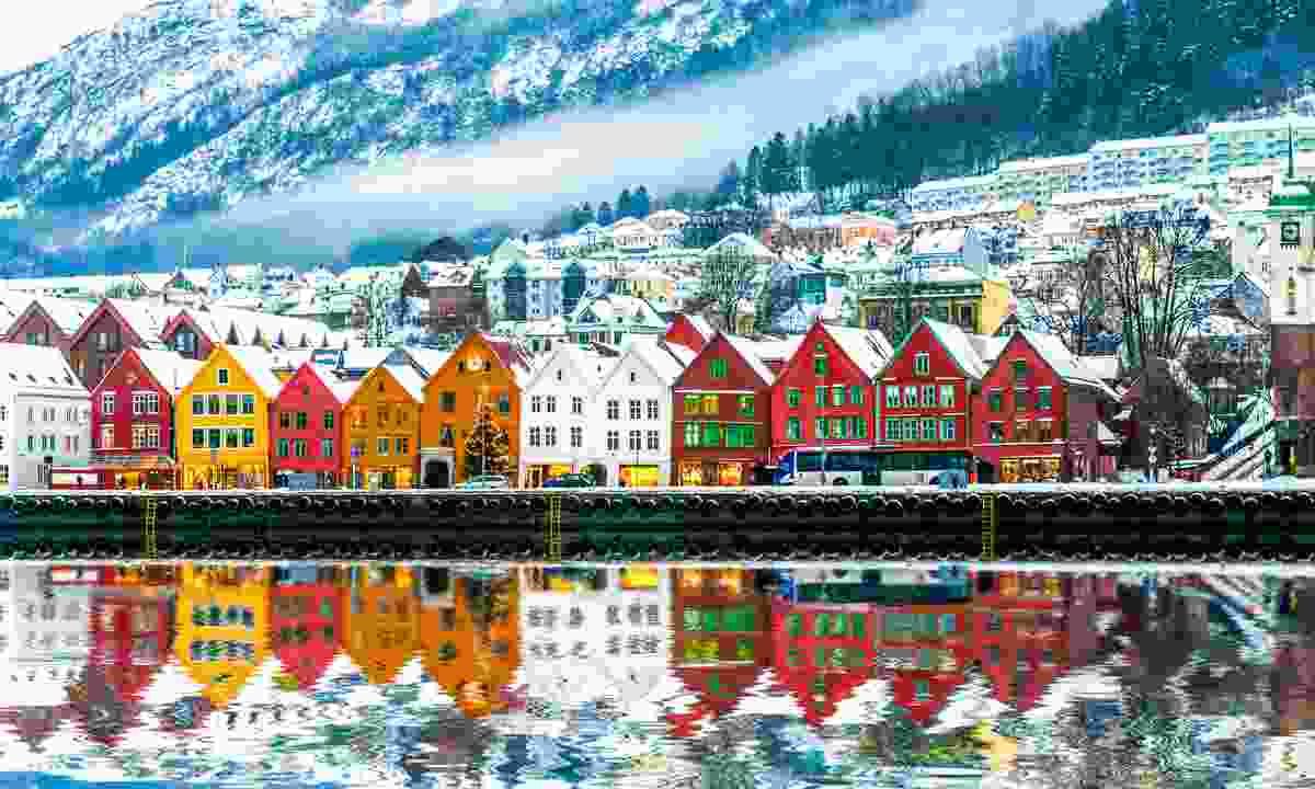 Bryggen in Bergen (Dreamstime)