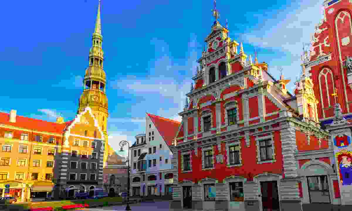 City Hall Square, Riga  (Dreamstime)