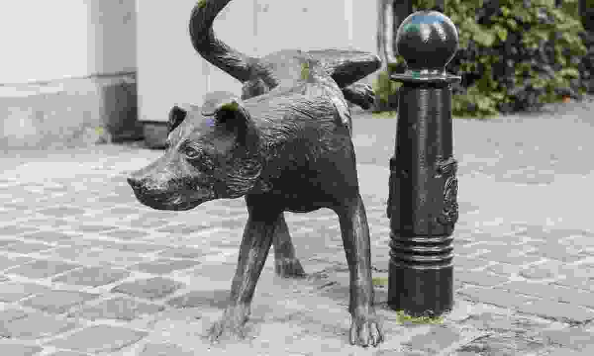 Het Zinneke in Brussels, Belgium (Dreamstime)