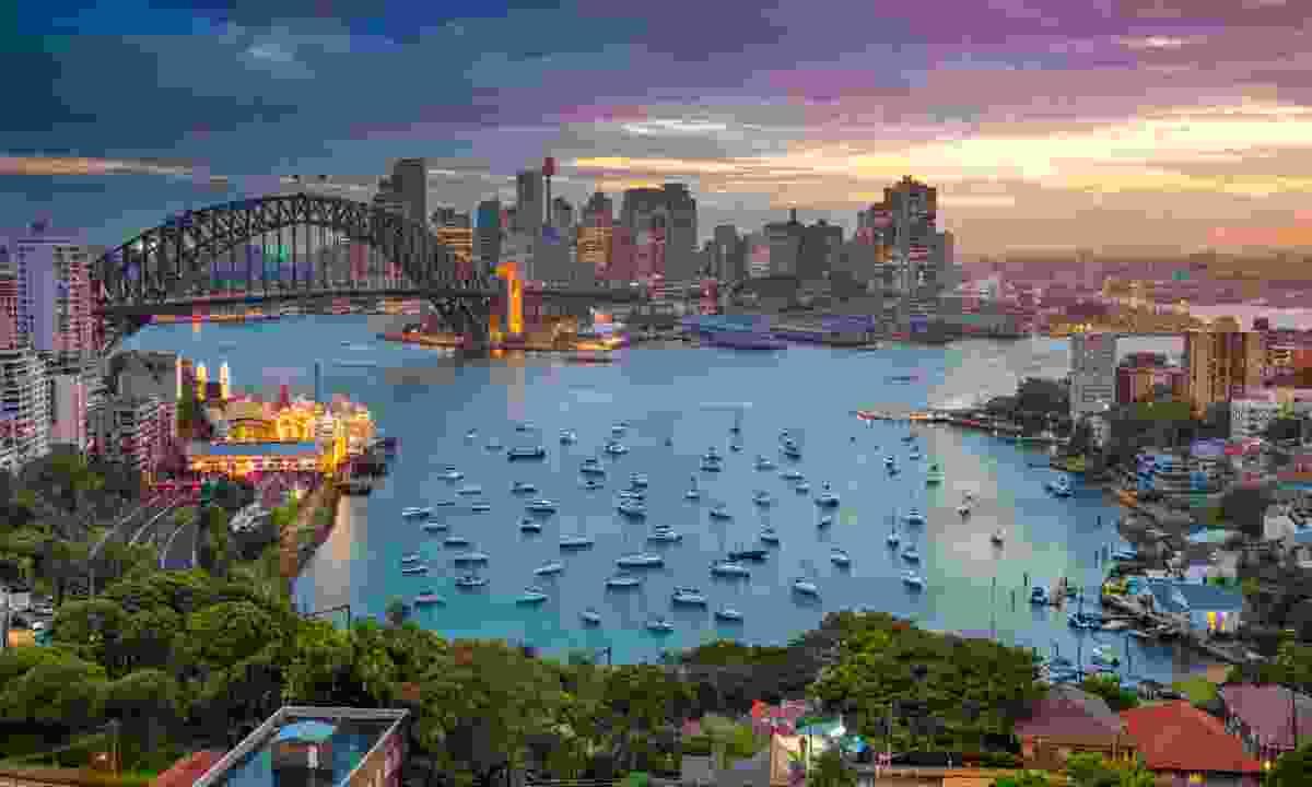 Sunset over Sydney (Dreamstime)
