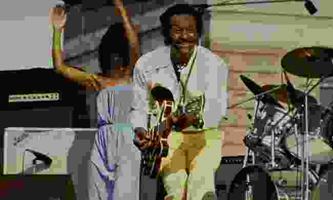 Chuck Berry in concert (Dreamstime)