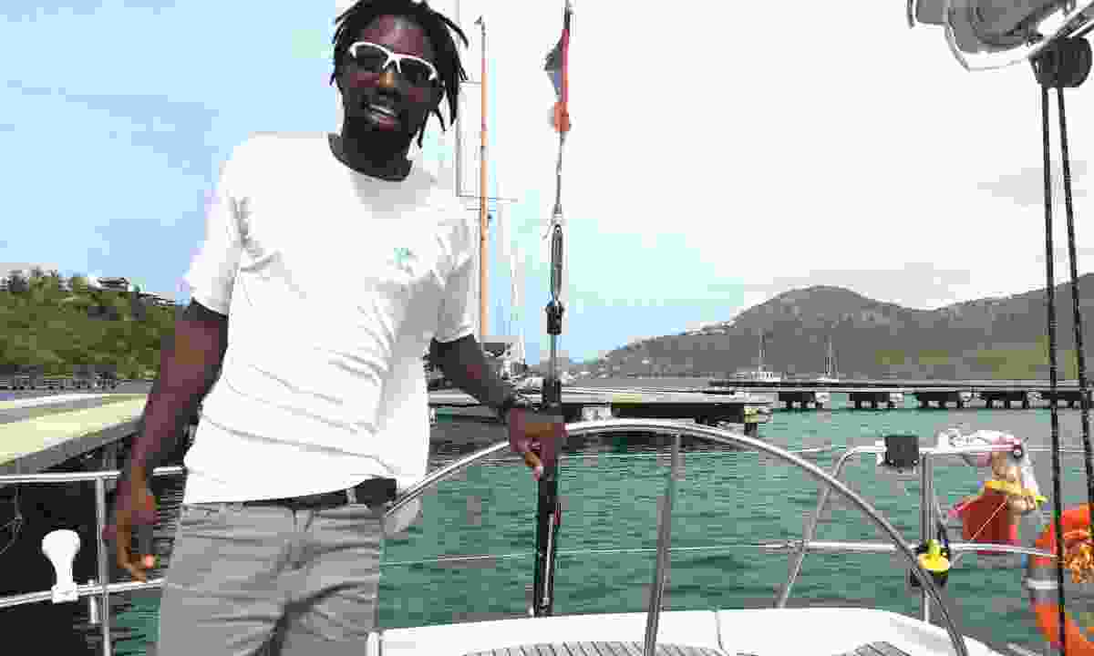 Sailing with Shadique (Peter Moore)