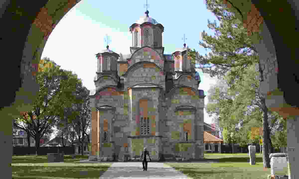 Gračanica Monastery (Peter Moore)