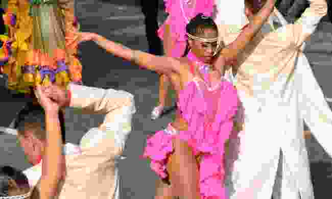 Dancing during the Summer Salsa Festival (Shutterstock)