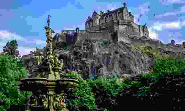 Edinburgh Castle in the summer (Shutterstock)
