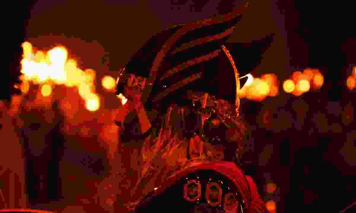 Up Hell Aa festival in Lerwick (Shutterstock)