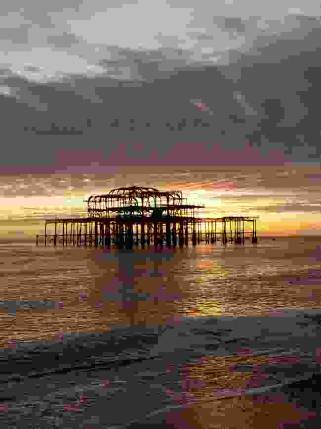 West Pier at sunset (Alexandra Loske)