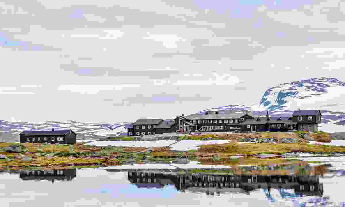 View of Finse town in Norway (Dreamstime)