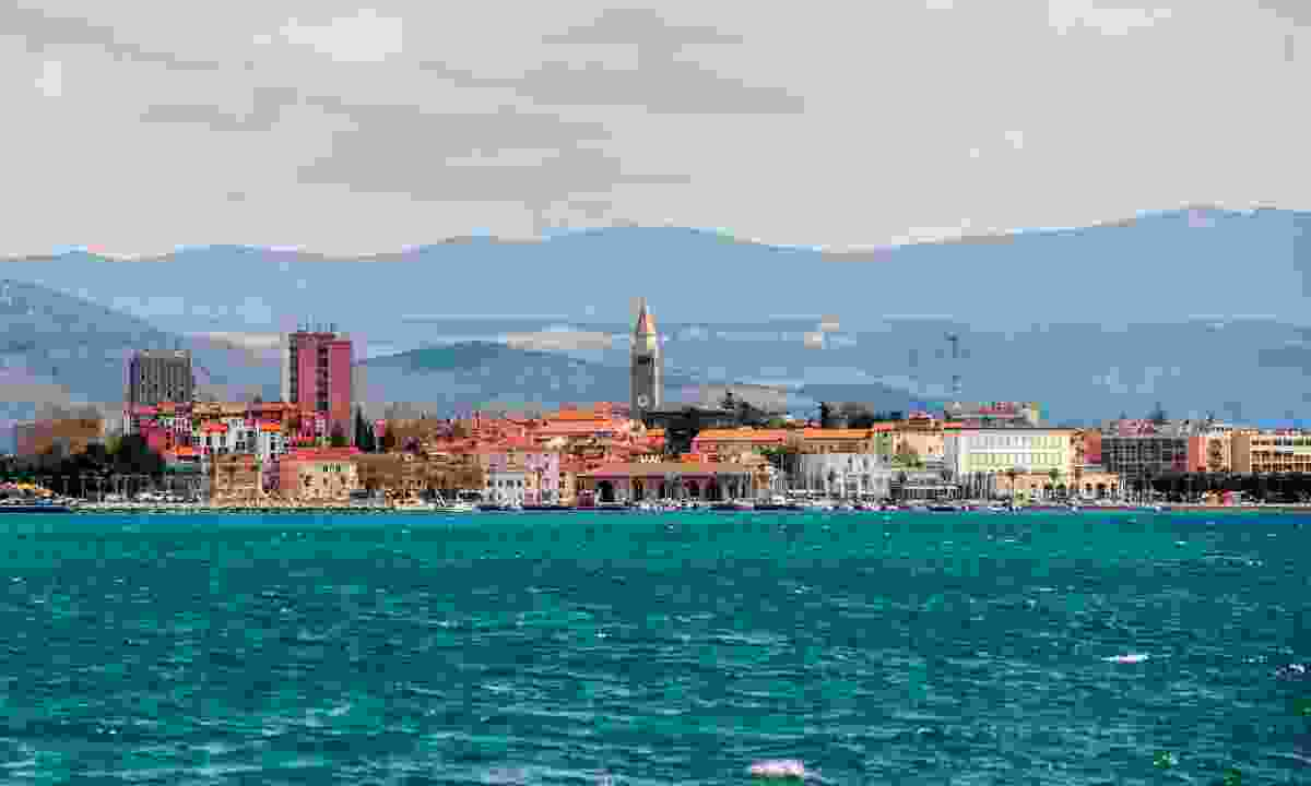 Views of Koper from sea (Dreamstime)