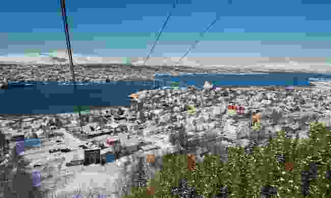 The Fjellheisen cable car offers stunning views across Tromsø (Dreamstime)
