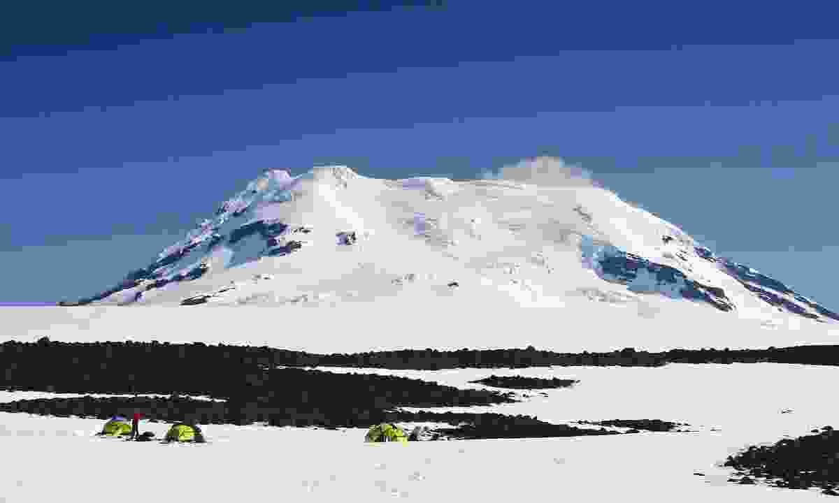 Beerenberg stratovolcano (Dreamstime)
