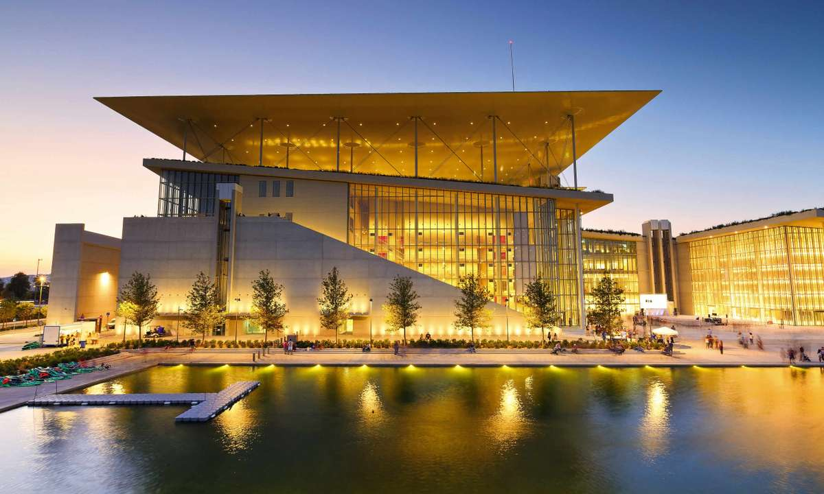 Stavros Niarchos Foundation Cultural Center (Dreamstime)