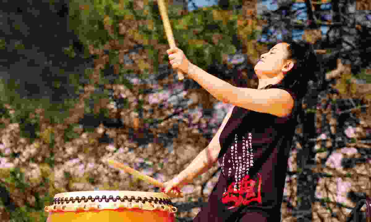 Taiko drumming in Japan (Dreamstime)
