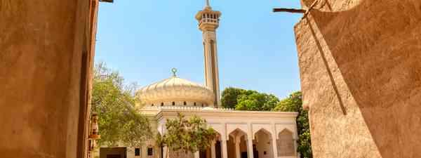 Al Bastakiya Mosque in Old Dubai, UAE (Shutterstock)