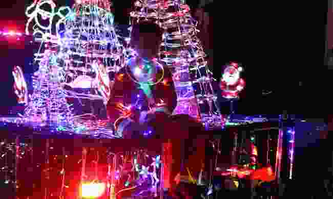 Watch the Festival of Lights in December (St Helena Tourist Board)