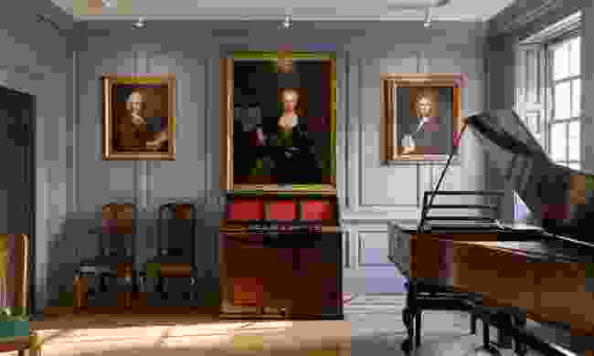 Handel House Music Room (James Newton)