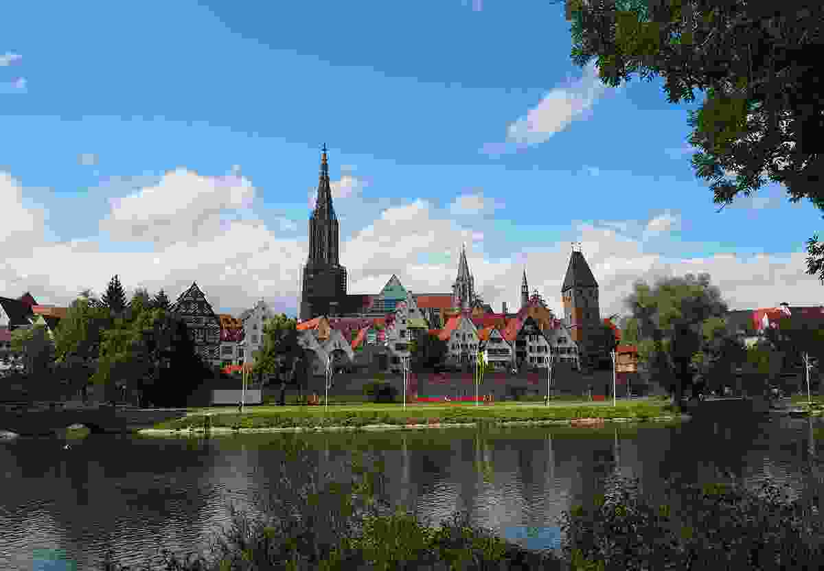 A panorama of Ulm (UNT, Anna Beyrer)