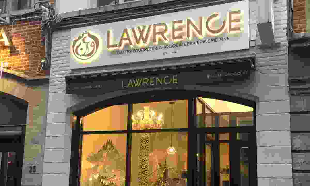 Lawrence chocolate store, Brussels (Ellie Kinsella)