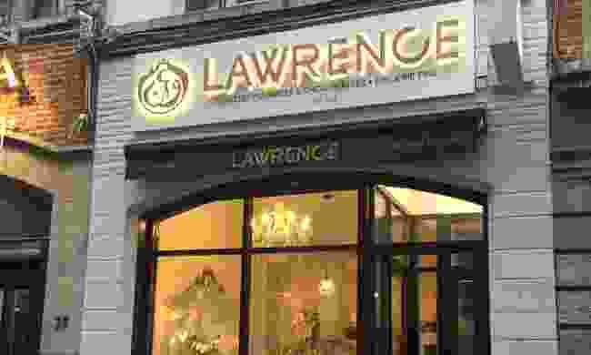 Lawrence chocolate store, Brussels (Ellie Kinsella)