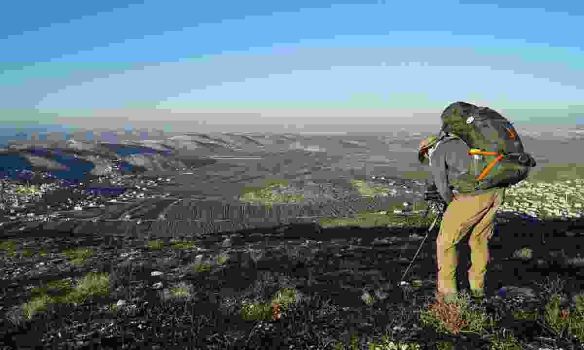 Looking across Palestine (Leon McCarron)