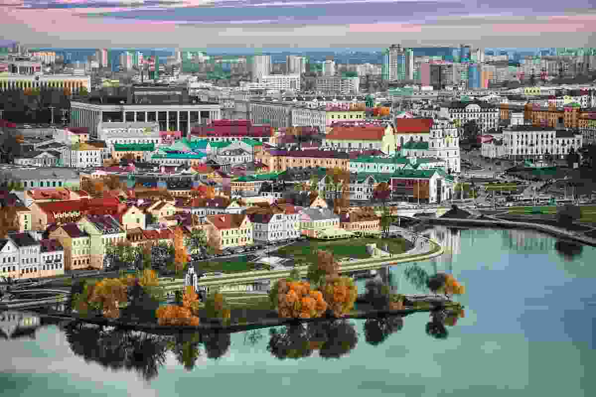 A panorama of historic Minsk, the capital of Belarus (Shutterstock)
