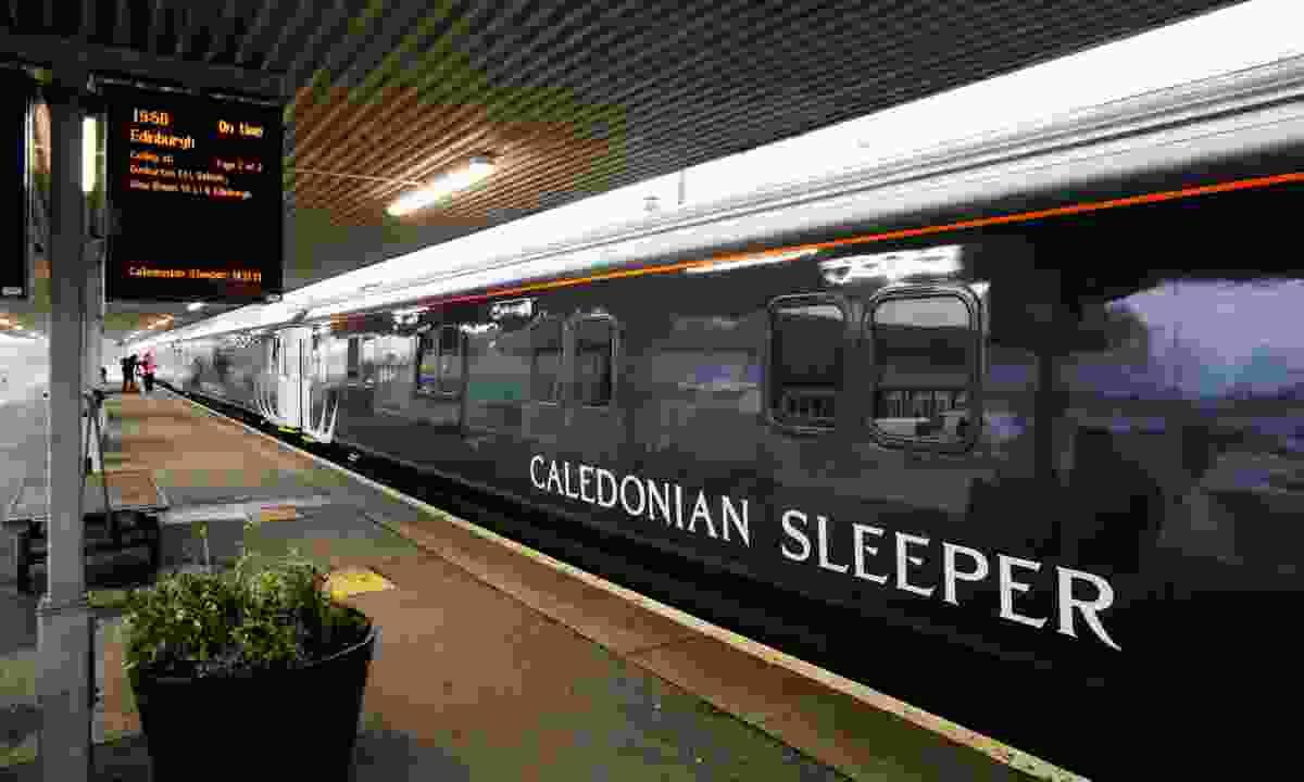 Caledonian Sleeper train (Iain McLean)