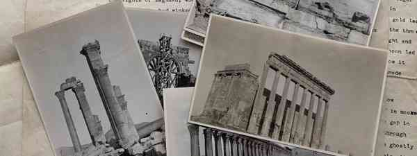Postcard from the past: And so begins James McManus's 100-year-old account of his journey to Palmyra, discovered during lockdown